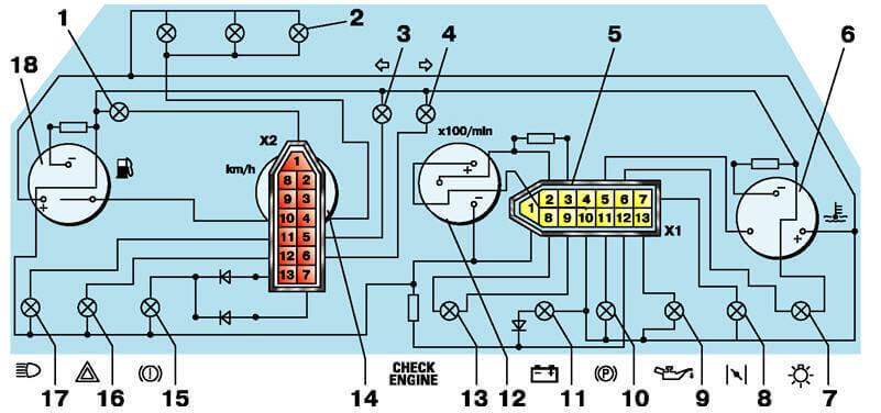 Комбинация приборов 2110. Передняя панель 21102. Ремонт и узлы