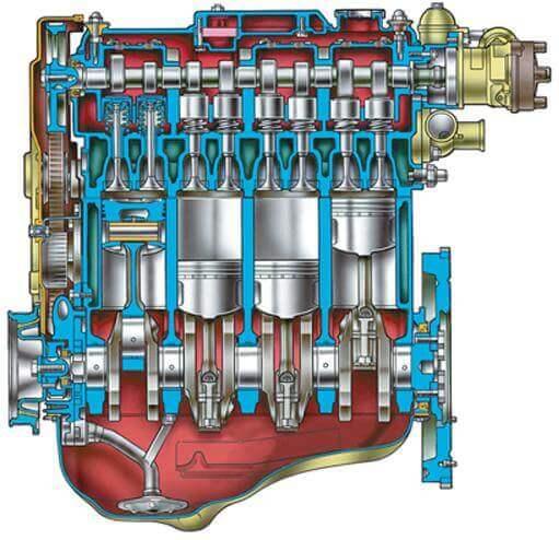 Двигатель ВАЗ 2110, ВАЗ 2111, ВАЗ 2112 (Инжекторный)