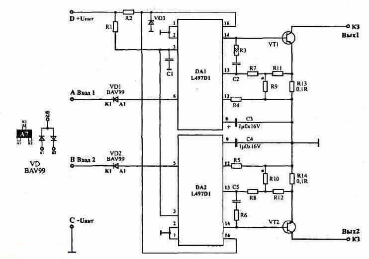101 - Схема подключения модуля зажигания ваз 2110