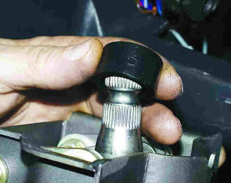 Замена подшипников вала рулевого управления ВАЗ-2110, ВАЗ-21102