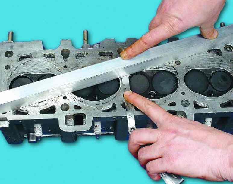 Ремонт головки блока цилиндров ВАЗ-2110, 21102, 21103, 21104