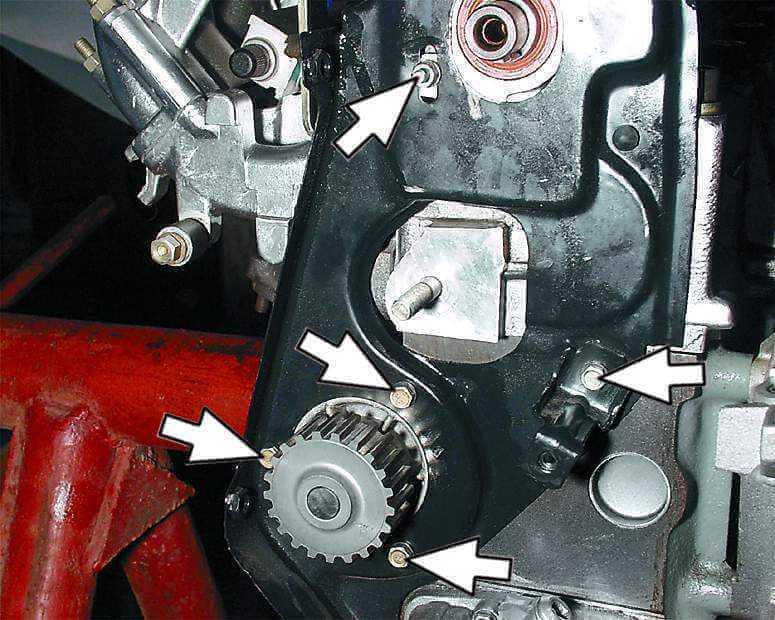 Разборка двигателя 2110
