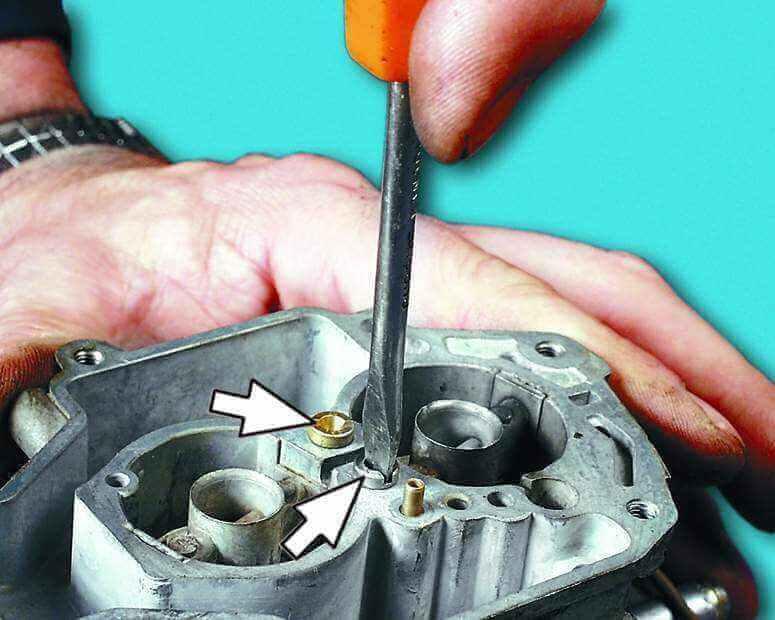 Ремонт карбюратора на ВАЗ 2110